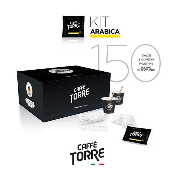 caffe-torre-kit-miscela-arabica-bicchierini-carta